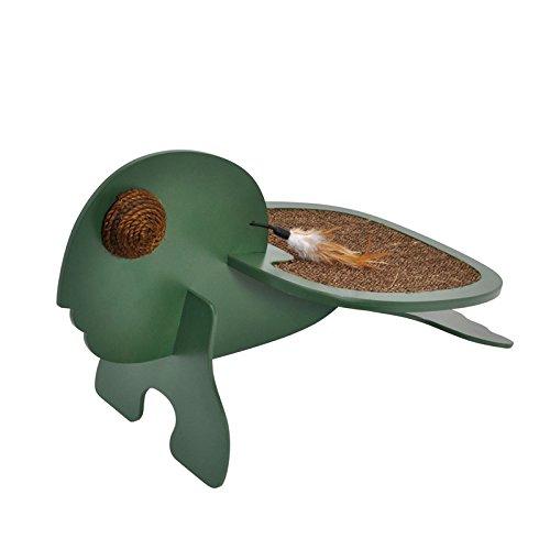 VOSS.PET Kratzspielzeug Thor die Schildkröte