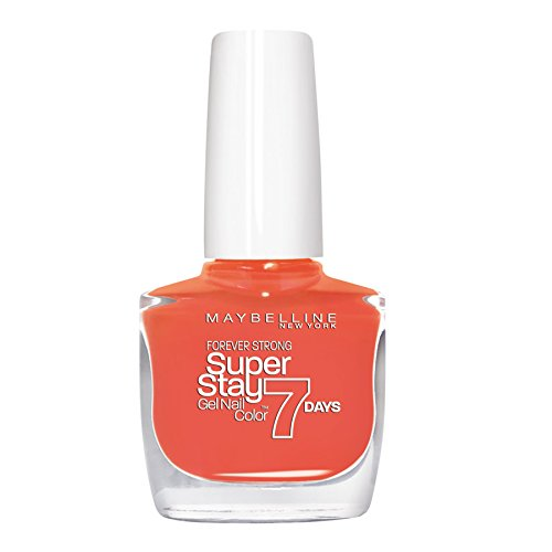 Maybelline New York Forever Strong Nagellack 460 Couture Orange, 10 ml