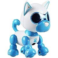 Jannyshop Perro Robot Electrónico Voz Robot Perro Juguete Inteligente Electrónico Mascota Niños Interactivo ...