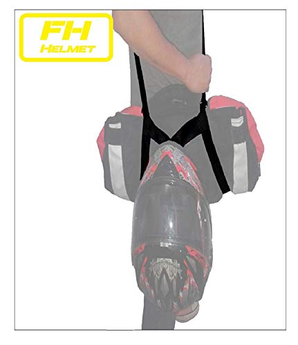 Free Hands Helmet Porta chaqueta y casco. Manos libres moto. Lleva tu...