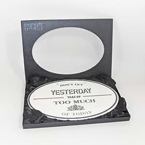 Heartwarmers Sentimental Ceramic Plaque Sign Yesterday