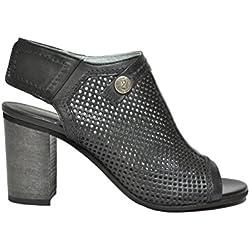 Nero Giardini Polacchini spuntati nero 7781 scarpe donna P717781D