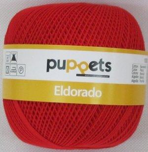 50G Puppets eldorado-Colore: 7046-rosso-uncinetto in spessore 10