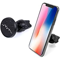 EURPMASK Universal Car Phone Mount, Magnetic Air Vent Car Phone Holder, Rotatable Car Mounts Car Cradle Holder Magnetic for iPhone X 8 8 Plus, For Samsung Galaxy S9 S8 Plus & Other Smartphones