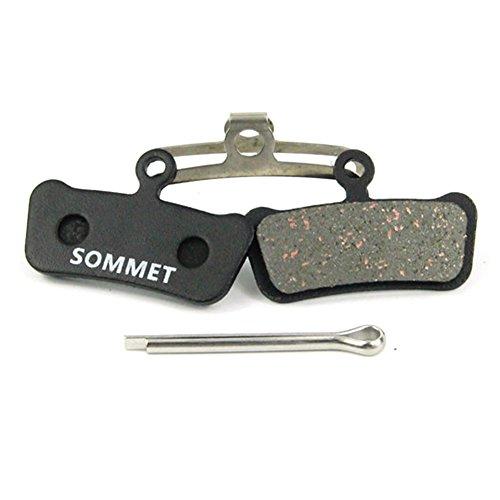SOMMET Pastiglie freno a disco semi-metallico per Avid XX Trail/ XO Trail / E9 Trail / E7 Trail / Sram Guide ZSP12-1