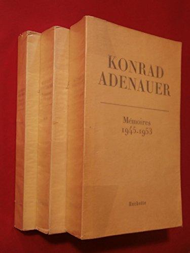 Mémoires, 1945 - 1953.