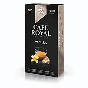 Café Royal flavo ured Vanilla, Caffè, Caffè Tostato, Capsule, Nespresso connettore, 100Capsule 5