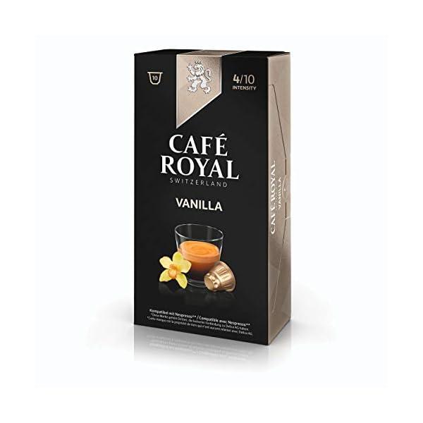 41HMk1sG8jL._SS600_ Café Royal flavo ured Vanilla, Caffè, Caffè Tostato, Capsule, Nespresso connettore, 100Capsule