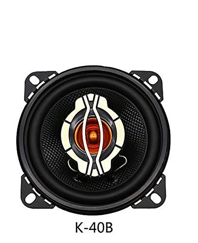 LIDAUTO Dual-Kegel Auto Koaxial Horn Fahrzeug Auto Audio Musik Stereo HiFi Lautsprecher Nicht-destruktiv Installation 2 Stücke 4inch 5inch 6inch 100W 120W 180W,4in 100w Dual Cone