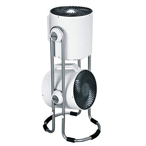 Elektrischer Ventilator Weißer doppelköpfiger Kreativventilator/Standventilator mit Luftkonvektion/Energiesparventilator/Turbinenabluftventilator 42 * 90 cm