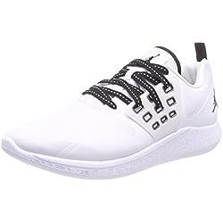 Nike Jordan Grind, Zapatos de Baloncesto para Hombre, Blanco (White/Black 110), 44.5 EU
