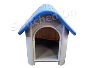 Pet Living Indoor/Outdoor Plastic Dog Kennel (GB mainland only)