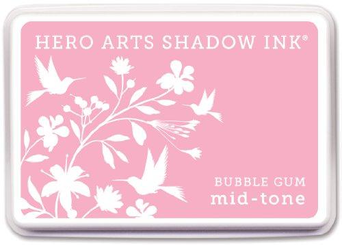 Unbekannt Hero Arts Midtone Ink Pads-Bubble Gum - Acid Free Bubble Gum