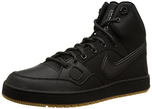 Nike Son Of Force Mid Winter Scarpe da ginnastica, Uomo, Nero (Black/Black/Anthracite/Gum Light Brown), 42