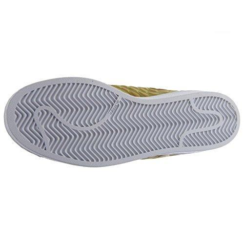 Adidas Originals Superstar Chaussures Ctmx, Bourgogne / blanc / noir collégiale, 4,5 M Us Yellow/White/Black