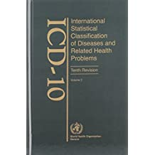ICD-10 International Statistical Classification of Diseases and Related Health Problems: Instruction Manual v. 2: 002