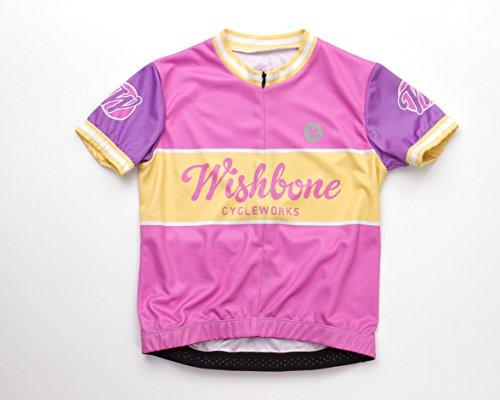 wishbone-3217-los-nios-camisa-bicicleta-talla-m-color-de-rosa
