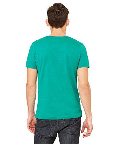 CanvasDamen T-Shirt verde - verde y negro