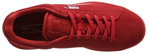 Puma Suede S S6, Baskets Basses Mixte Adulte Rouge (Red/Red/Silv)