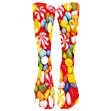Yvelands Socken Strumpfhosen Strümpfe Bunte Krawatten Kompressionssocken-Fußball hohe Socken Ange Socken(One Size,B)