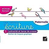Les cahiers d'écriture - Maternelle PS, MS, GS Éd. 2020 - Cahier n°1 : Gestion de l'espace graphique