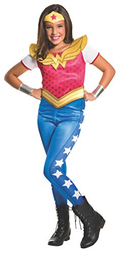 Rubie's 3620743 - DC Super Hero Girls Wonder Woman Kinderkostüm, 	 S