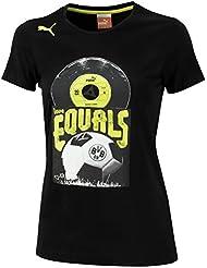 BVB Borussia Dortmund Puma T-Shirt Record Damen Tee 741915