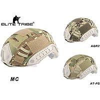 Elite Tribe - Casco táctico para Caza de Airsoft, Multicam, AOR2