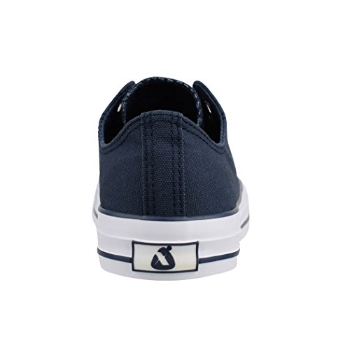Elara Unisex Sneaker | Damen Herren | Low Top | Chunkyrayan Dunkelblau