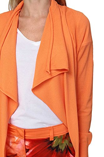 Basler Damen Strickjacke Orange