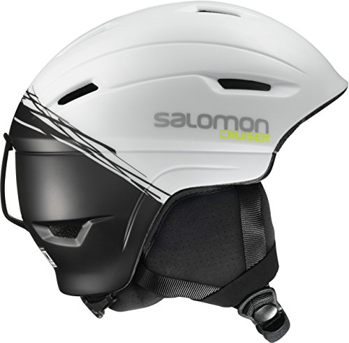 Salomon, Unisex Allround-Ski- und Snowboardhelm, EPS 4D, Gr. L, Kopfumfang 59-62 cm, CRUISER 4D, Weiß/Schwarz, L39035200