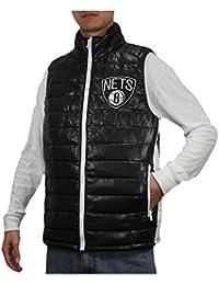 NBA Herren Brooklyn Nets Pro Qualität Zip-Up Winddichte Weste / Jacke