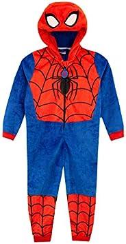 Marvel Pijama Entera para niños Spiderman