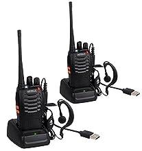Panoramica:Queste Due Radio possono collegare tra di loro nella regione isolata o campo salvatico, dove il segnale del cellulare è debole o povero. Potete trovare il partner nella distanza di stretta di mano a 5 chilometri. Con l'ultima tecnologia...