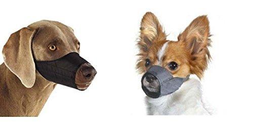 Unbekannt Medium/Large Quick Fit Maulkorb für Hunde, Größe 4, Fit Schnauze Größe 20,3cm durch Downtown Pet Supply -