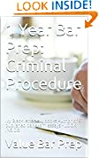 #6: 1 Year Bar Prep: Criminal Procedure (Prime Members Can Read Free!): Ivy Black letter law books Author of 6 published bar exam essays - LOOK INSIDE! !