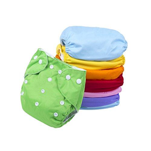 BIG ELEPHANT Baby-Normallack-Wiederverwendbare Stoff-Taschen-Windeln Taschen-Windeln