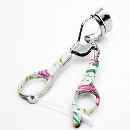 Petit outil de beauté de maquillage portable Outils professionnels de maquillage stéréo de modèle de porcelaine de recourbe de cils 3D recourbe-cils