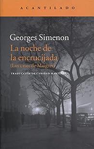 La noche de la encrucijada par Georges Simenon