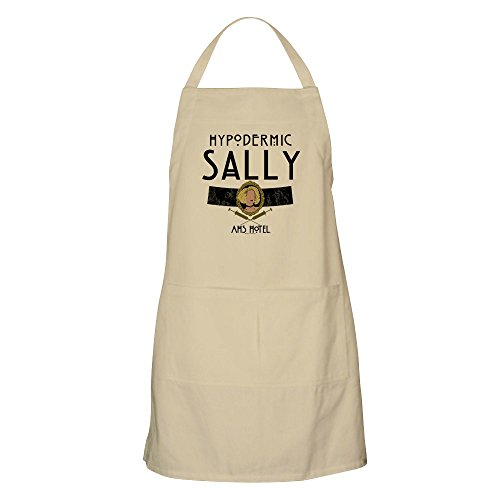 CafePress – American Horror Story Hotel Hypodermische Sally Schürze – Küchenschürze, Grillschürze, Backschürze Khaki