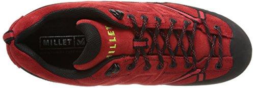 Millet Trident Guide, Chaussures de Randonnée Basses Homme Rouge (7161 Red/Acid Green)