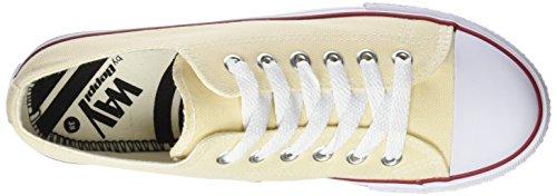 Beppi Damen Canvas Shoe Fitnessschuhe Beige (Beige)