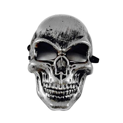 me Halloween Rave Maske Skelett Maske Horror Masken Totenkopf Maske Neu karneval Schädel Bandana Horror Grimasse Terror Maske Kostümfest Kleid ()