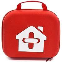 Yuan Ou Kit Primeros Auxilios Botiquines De Primeros Auxilios Bolsa Vacía para Viajar Camping Sport Medical Car Emergency Survival Outdoor 24 * 18 * 8cm Rojo