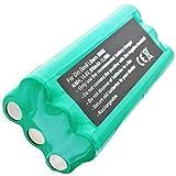 Compatible avec les aspirateurs dirt devil m606 0606004 libero batterie de 800 mAh