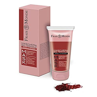 Frais Monde Bio Spa Energising Mask with Red Clay and with Water Floral Bio Pomegranate and Extract Bio Fruit and Pomegranate Seed 75Ml by ismeg