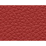 1 METRO de Polipiel para tapizar, manualidades, cojines o forrar objetos. Venta de polipiel por metros. Diseño Elis Color Rojo ancho 140cm