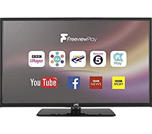 "JVC LT-32C672 32"" Smart LED TV- HD Ready, Catch up Tv, Freeview, Netflix, USB"