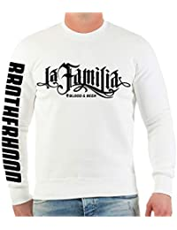 Life Is Pain Männer und Herren Sweatshirt La Familia Blood