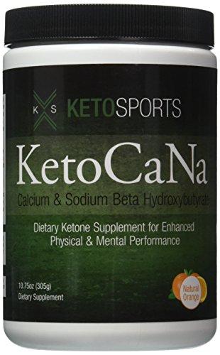 KetoSports KetoCaNa | Calcium and Sodium Beta Hydroxybutyrate | Exogenous Ketones Test